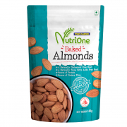 NutriOne Baked Almonds Unsalted 85g