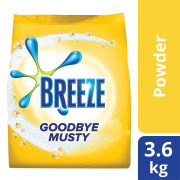 Laundry Powder Detergent Goodbye Musty (Indoor Drying) 3.6.kg
