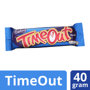 Time Out Twin Bar 40g