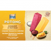 Potong Ice Cream Cempedak & Red Bean 6sX60ml