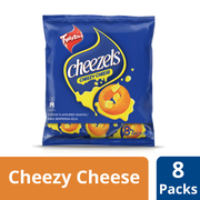 Cheezels Corn Snack - Cheesy Cheese 8sX15g
