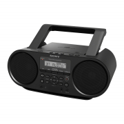 CD Boombox with Bluetooth & USB ZS-RS60BT