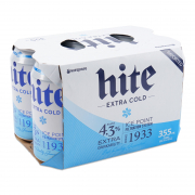 Hite Beer Extra Cold 6sX355ml