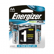 Max Plus AA Alkaline Batteries 8s