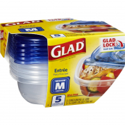 Entree Containers and Lids 5s