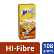 Hi-Fibre Wheat Crackers 6sX26g (#)