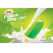 Ice Cream Tropical Sling Jolly 4sX65ml