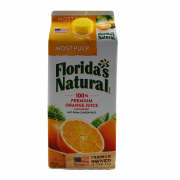100% Premium Orange Juice - Most Pulp 1.75L