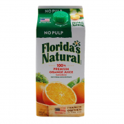 100% Premium Orange Juice - No Pulp 1.75L