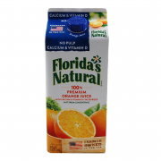 100% Premium Orange Juice - No Pulp with Calcium & Vitamin D 1.75L