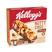 Nutty Choc Cereal Bar 4sX30g