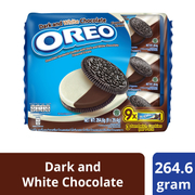 Chocolate Sandwich Cookies - Dark & White 9sX29.4g