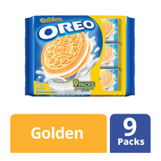 Sandwich Cookies - Golden 9sX29.4g