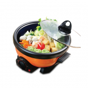 2L Multi Cooker With Steamboat & BBQ Function PPMC181