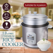 Rice Cooker with Steamer 1L PPRC64