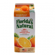 100% Premium Orange Juice - Some Pulp 1.75L