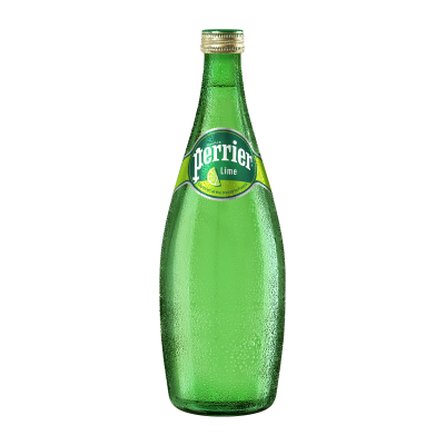 Lime Flavoured Sparkling Natural Mineral Water 750ml