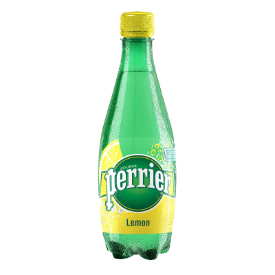 Lemon Flavoured Sparkling Natural Mineral Water 500ml